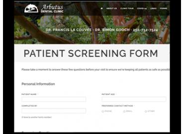 Patient Screening Form